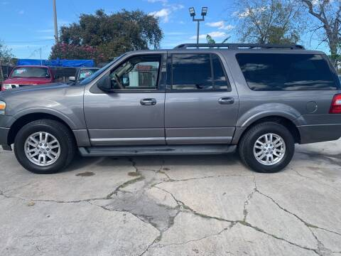 2011 Ford Expedition EL for sale at FAIR DEAL AUTO SALES INC in Houston TX