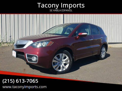 2011 Acura RDX for sale at Tacony Imports in Philadelphia PA