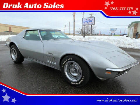 1969 Chevrolet Corvette for sale at Druk Auto Sales in Ramsey MN