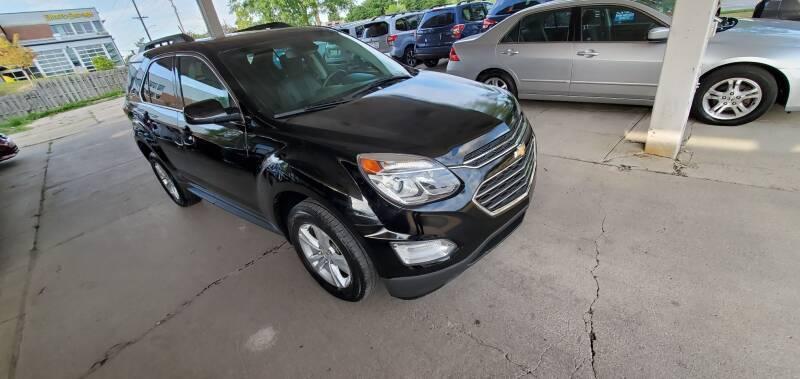 2016 Chevrolet Equinox for sale at Divine Auto Sales LLC in Omaha NE