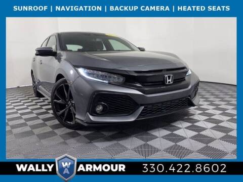 2018 Honda Civic for sale at Wally Armour Chrysler Dodge Jeep Ram in Alliance OH