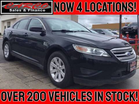 2012 Ford Taurus for sale at CARCO SALES & FINANCE #2 in Chula Vista CA