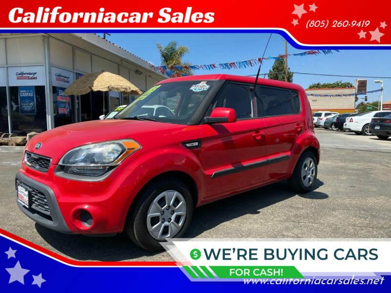 2013 Kia Soul for sale at Californiacar Sales in Santa Maria CA