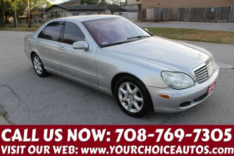 2006 Mercedes-Benz S-Class for sale at Your Choice Autos in Posen IL