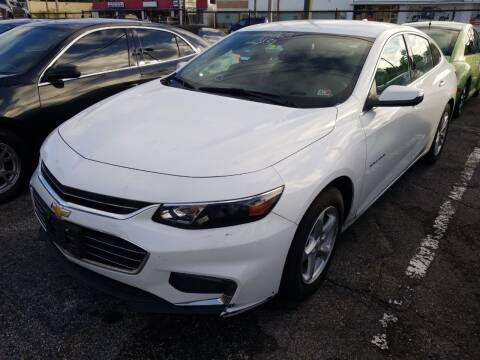 2018 Chevrolet Malibu for sale at Castle Used Cars in Jacksonville FL