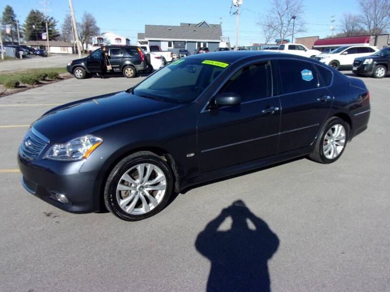 2008 Infiniti M35 for sale at Ideal Auto Sales, Inc. in Waukesha WI
