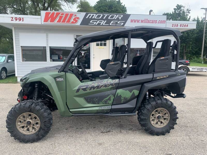 2021 Yamaha WOLVERINE RMAX 1000-4 for sale at Will's Motor Sales in Grandville MI