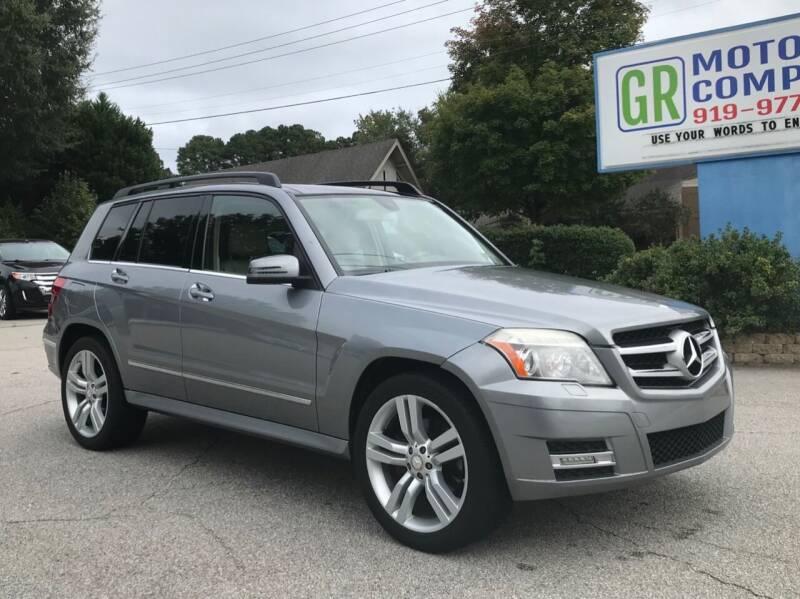 2011 Mercedes-Benz GLK for sale at GR Motor Company in Garner NC