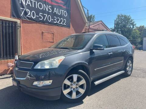 2009 Chevrolet Traverse for sale at Nations Auto Inc. II in Denver CO