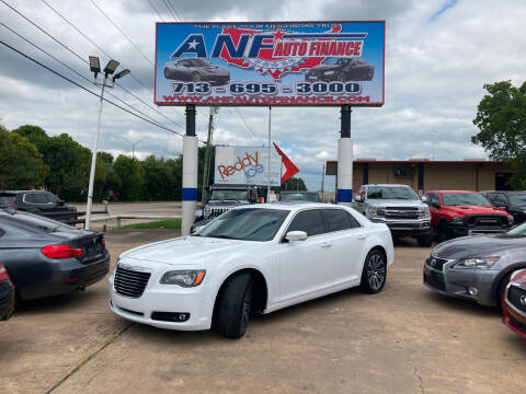 2014 Chrysler 300 for sale at ANF AUTO FINANCE in Houston TX