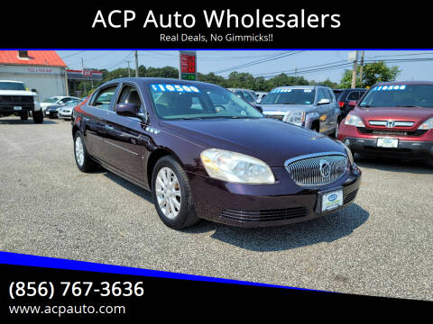 2009 Buick Lucerne for sale at ACP Auto Wholesalers in Berlin NJ