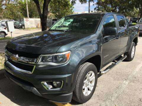 2017 Chevrolet Colorado for sale at DORAL HYUNDAI in Doral FL