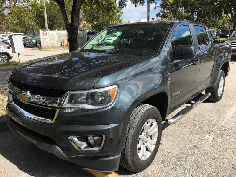 2017 Chevrolet Colorado for sale at DORAL HYUNDAI in Doral FL