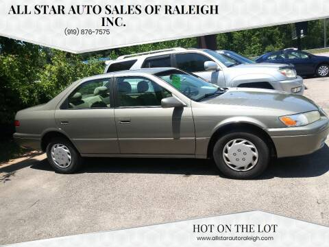 1999 Toyota Camry for sale at All Star Auto Sales of Raleigh Inc. in Raleigh NC