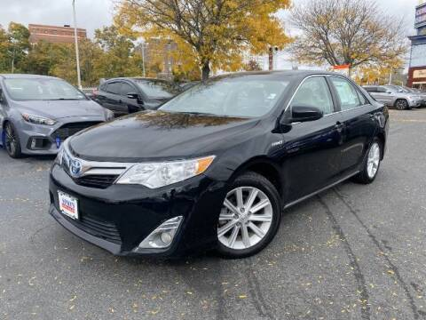 2013 Toyota Camry Hybrid for sale at Sonias Auto Sales in Worcester MA