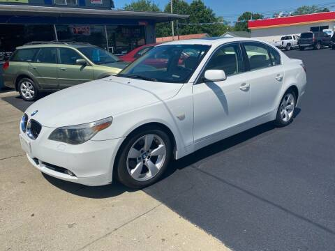 2007 BMW 5 Series for sale at Wise Investments Auto Sales in Sellersburg IN