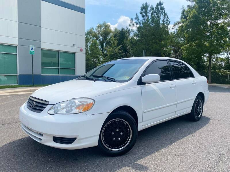 2004 Toyota Corolla for sale at Super Bee Auto in Chantilly VA