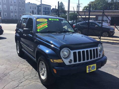 2007 Jeep Liberty for sale at Adams Street Motor Company LLC in Boston MA