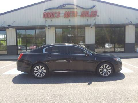 2013 Lincoln MKS for sale at DOUG'S AUTO SALES INC in Pleasant View TN