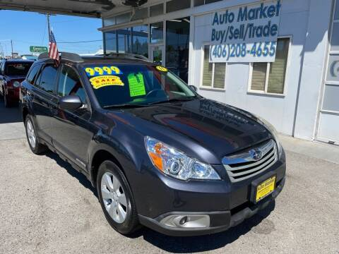 2011 Subaru Outback for sale at Auto Market in Billings MT