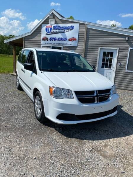 2015 Dodge Grand Caravan for sale at ROUTE 11 MOTOR SPORTS in Central Square NY
