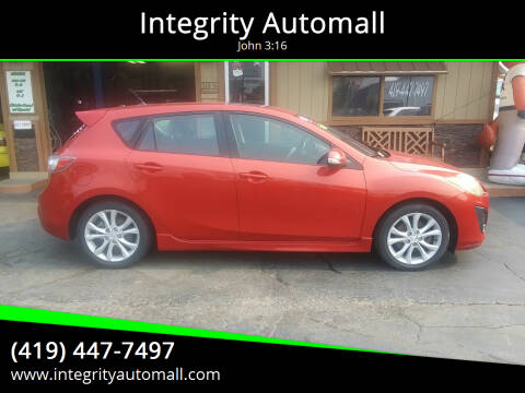 2010 Mazda MAZDA3 for sale at Integrity Automall in Tiffin OH