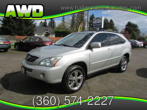 2006 Lexus RX 400h for sale at Hall Motors LLC in Vancouver WA