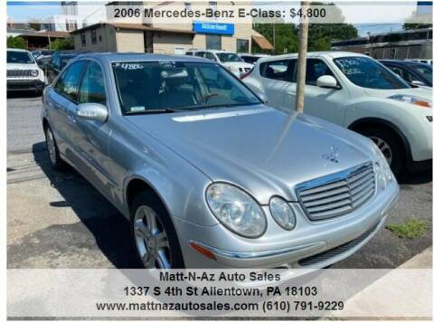 2006 Mercedes-Benz E-Class for sale at Berk Motor Co in Whitehall PA