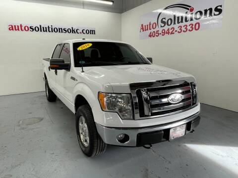 2010 Ford F-150 for sale at Auto Solutions in Warr Acres OK