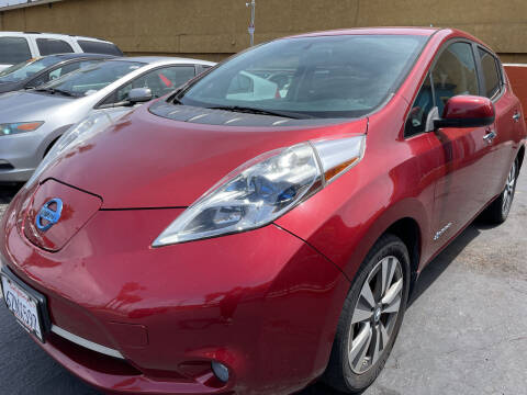 2013 Nissan LEAF for sale at CARZ in San Diego CA