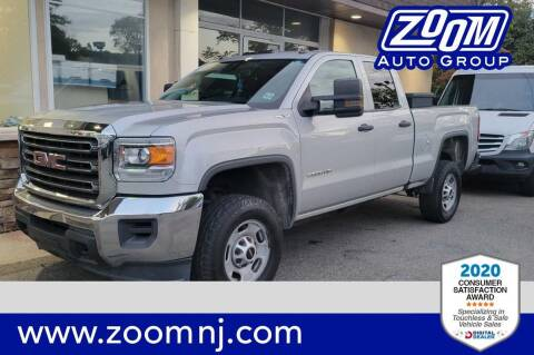 2016 GMC Sierra 2500HD for sale at Zoom Auto Group in Parsippany NJ