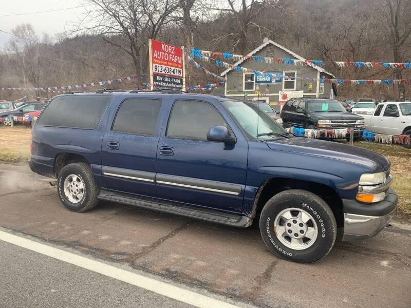 2003 Chevrolet Suburban for sale at Korz Auto Farm in Kansas City KS