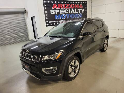 2020 Jeep Compass for sale at Arizona Specialty Motors in Tempe AZ