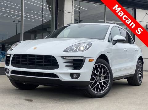 2018 Porsche Macan for sale at Carmel Motors in Indianapolis IN