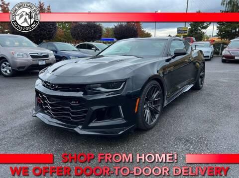 2018 Chevrolet Camaro for sale at Auto 206, Inc. in Kent WA
