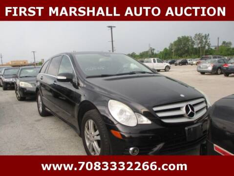 2008 Mercedes-Benz R-Class for sale at First Marshall Auto Auction in Harvey IL