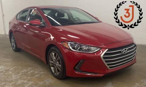 2017 Hyundai Elantra for sale at 3 J Auto Sales Inc in Arlington Heights IL