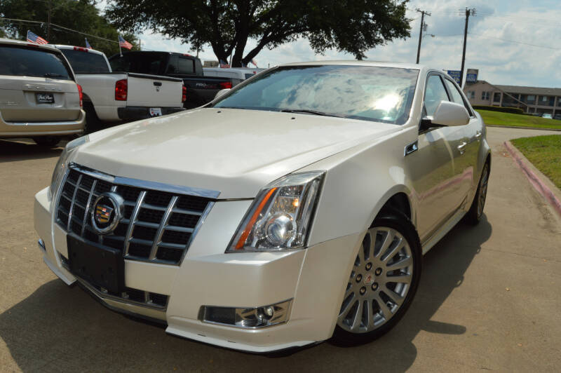 2013 Cadillac CTS for sale at E-Auto Groups in Dallas TX