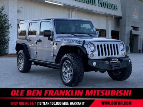 2015 Jeep Wrangler Unlimited for sale at Ole Ben Franklin Mitsbishi in Oak Ridge TN
