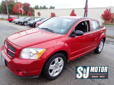 2009 Dodge Caliber for sale at S & J Motor Co Inc. in Merrimack NH