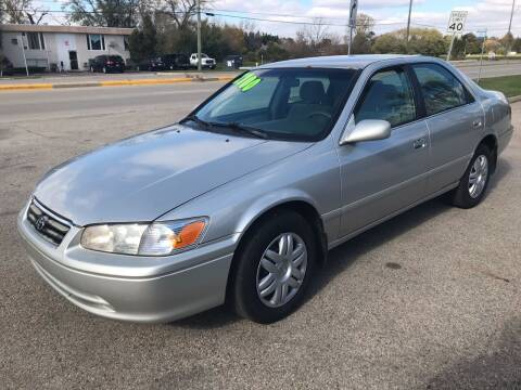 2001 Toyota Camry for sale at GLOBAL AUTOMOTIVE in Gages Lake IL