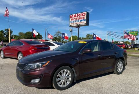2014 Kia Optima for sale at Mario Motors in South Houston TX