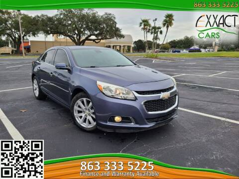 2015 Chevrolet Malibu for sale at Exxact Cars in Lakeland FL