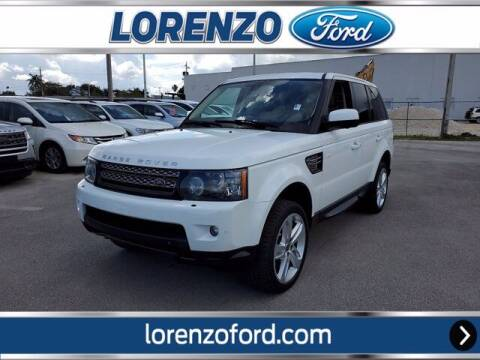 2013 Land Rover Range Rover Sport for sale at Lorenzo Ford in Homestead FL