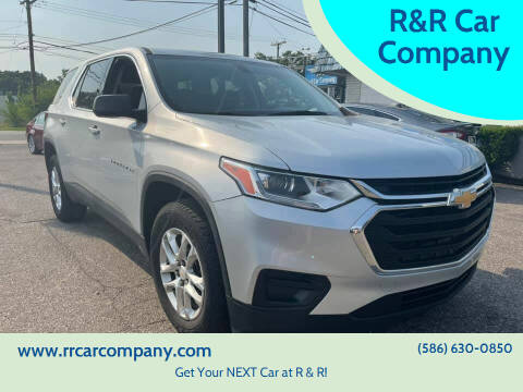 2019 Chevrolet Traverse for sale at R&R Car Company in Mount Clemens MI