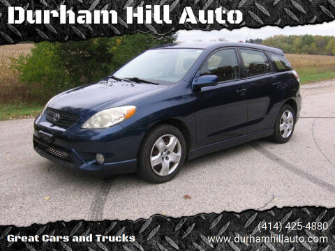 2008 Toyota Matrix for sale at Durham Hill Auto in Muskego WI