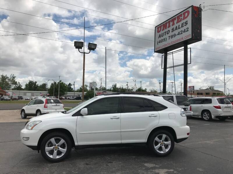 2008 Lexus RX 350 for sale at United Auto Sales in Oklahoma City OK