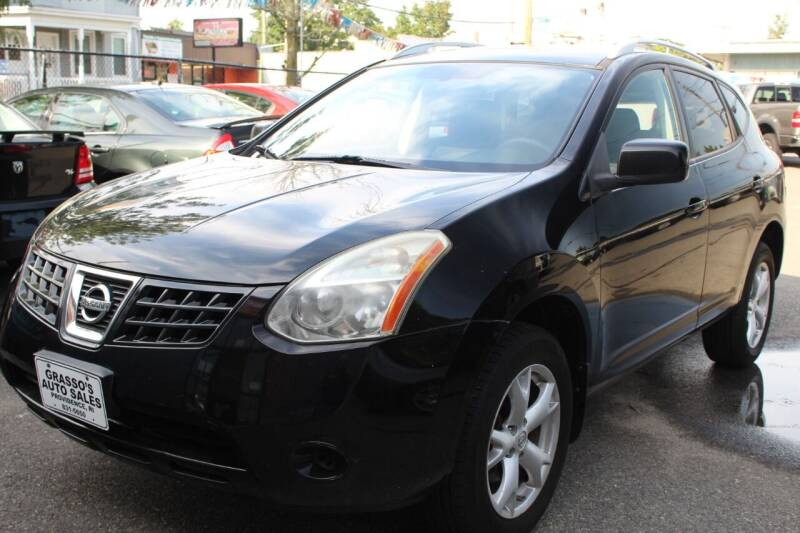 2008 Nissan Rogue for sale at Grasso's Auto Sales in Providence RI