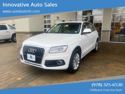 2013 Audi Q5 for sale at Innovative Auto Sales in North Hampton NH