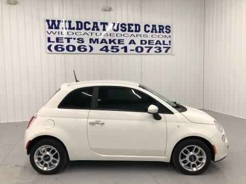 2012 FIAT 500 for sale at Wildcat Used Cars in Somerset KY